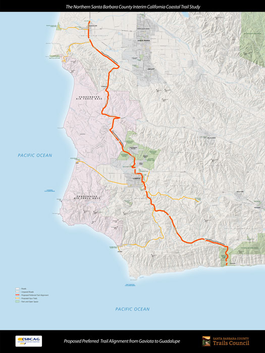 Proposed Preferred Trail Alignment